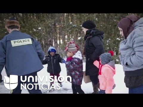 Se triplica el número de indocumentados que huyen de Estados Unidos a Canadá