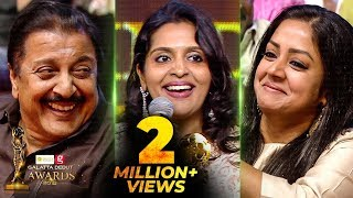 Suriya or Karthi, Who is Very Strict? - Brindha Sivakumar\'s Funny Reply | Galatta Debut Awards