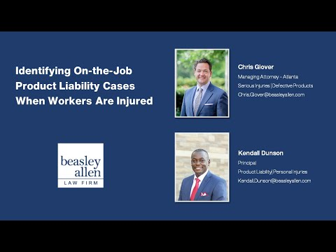 Identifying On-the-Job Product Liability Cases when Workers Are Injured