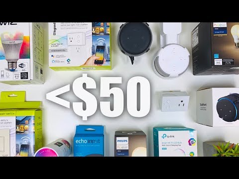 Top Budget Smart Home Tech Under $50! (2019)