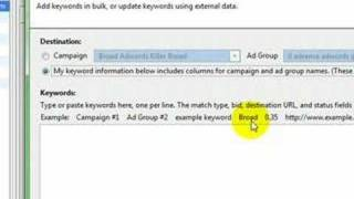 Yahoo AdWords - The Secret Tool