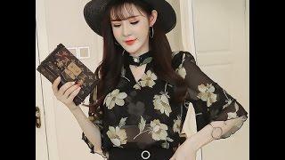 áo sơ mi nữ Top 30 áo sơ mi đẹp nhất P7 | áo sơ mi kiểu Hàn Quốc dễ thương