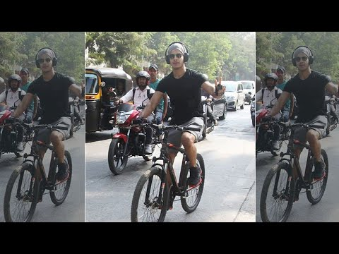 Ishaan Khatter's Reply On Risking Safety By Wearing A Headphone While Riding A Bicycle Mp3