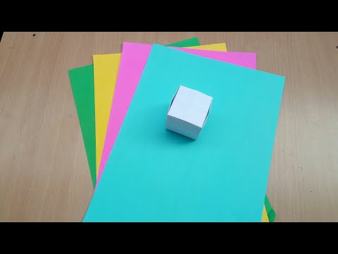 Origami : Paper Cube - Very easy - DIY Tutorial by My Brain