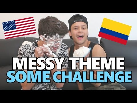 MESSY THEME SONG CHALLENGE - MARIO RUIZ vs BRENT RIVERA
