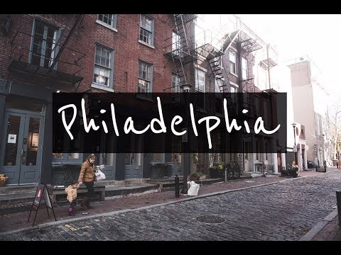 Comi el famoso CHEESESTEAK!! PHILADELPHIA #1 l TRAVEL GUIDE l  4K