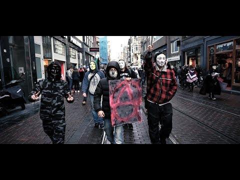Million Mask March Amsterdam 2017 Promo