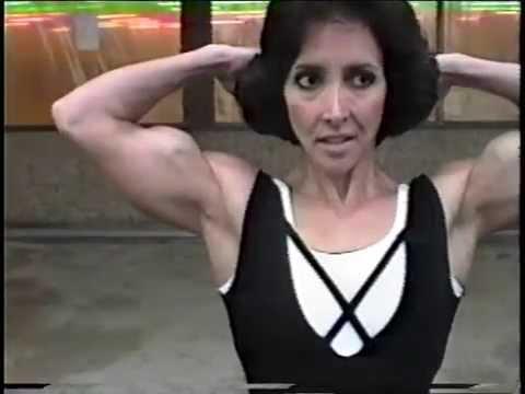 mature woman bicep