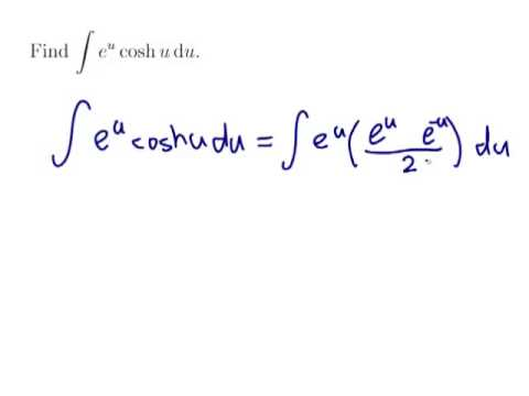 Example Finding The Integral Of A Combination Of Exponential And