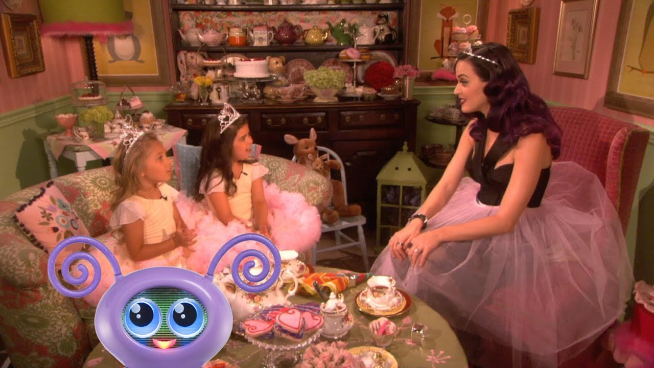 Tea Time With Sophia Grace Amp Rosie And Katy Perry Youtube