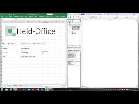 0042: Excel-VBA: Bestimmte Zeilen in andere Tabelle übertragen