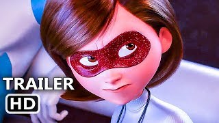 incredibles 2 official trailer 3 new 2018 disney animated movie