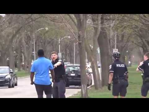 Man Fights Police Officers On Milwaukees Northside 5/2/2018