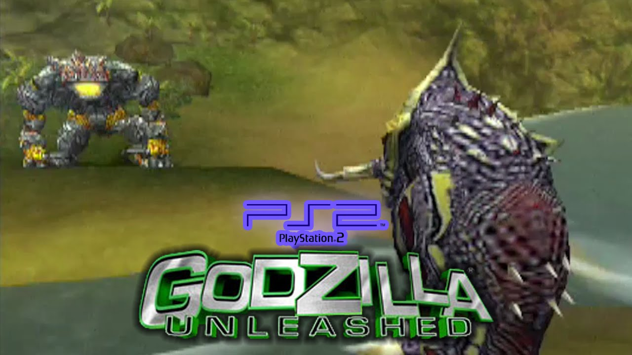 godzilla video game ps2