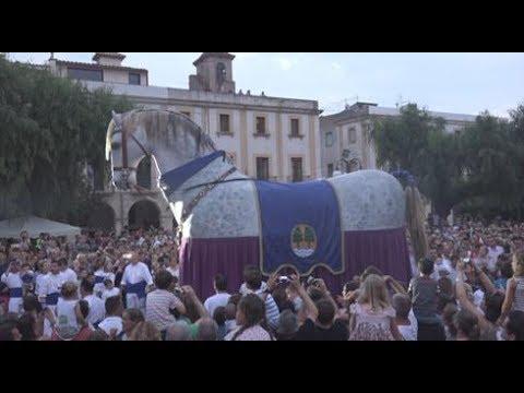 El Cavall dels Nebot - El cavall més gran de Catalunya amplia el seguici festiu de Riudoms