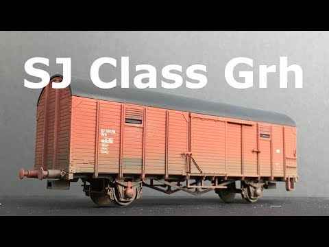 Unboxing And Weathering SJ Class Grh From NMJ