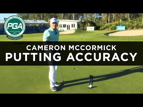 BETTER ACCURACY WITH THE PUTTER   Cameron McCormick   PGA TV