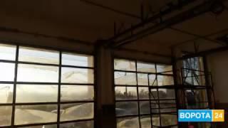 Стеклянные ворота Киев, Одесса - ВОРОТА 24(, 2017-02-09T08:18:53.000Z)