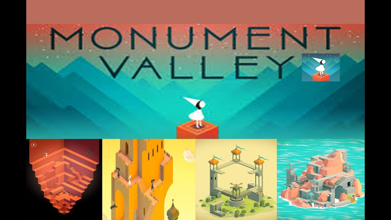 MONUMENT VALLEY ---GAMEPLAY ANDROID