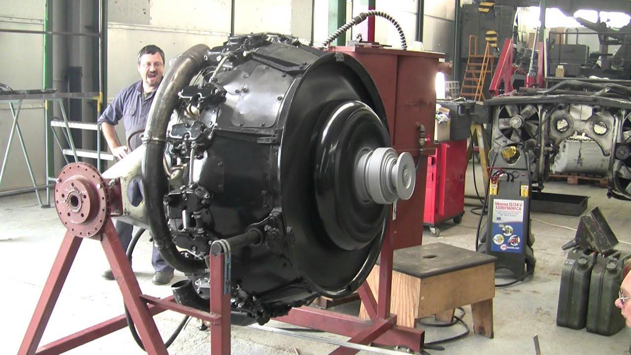 Sherman Continental R975-C4 Tank Engine First Start | Sia