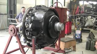 Sherman tank engine first start