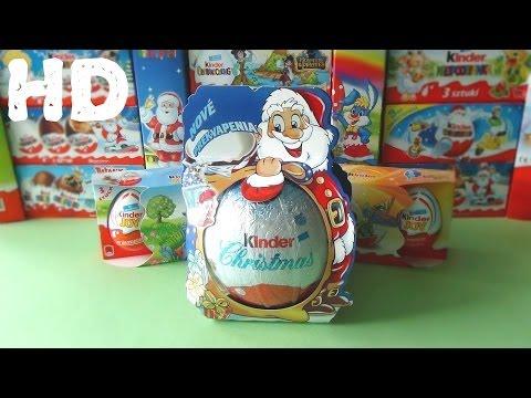 Видео, Киндер сюрприз Рождество Макси колекция 2006 2011 ретро