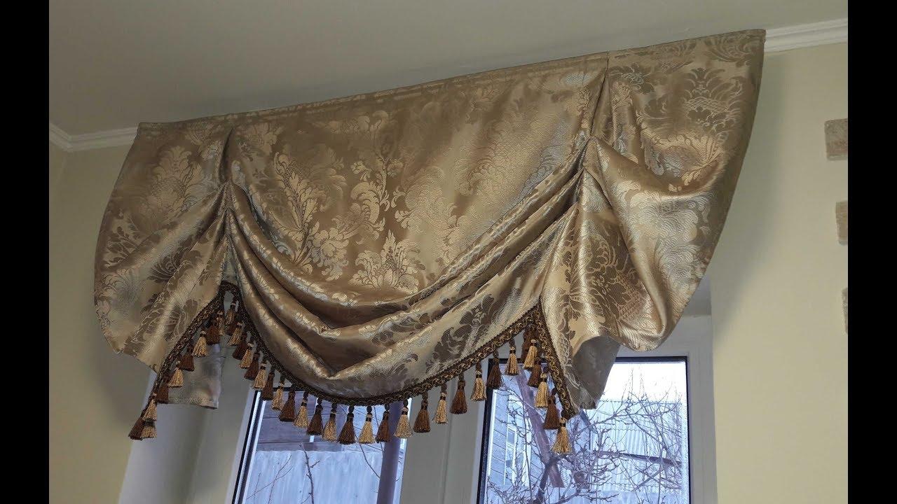 Креативная штора своими руками фото 758