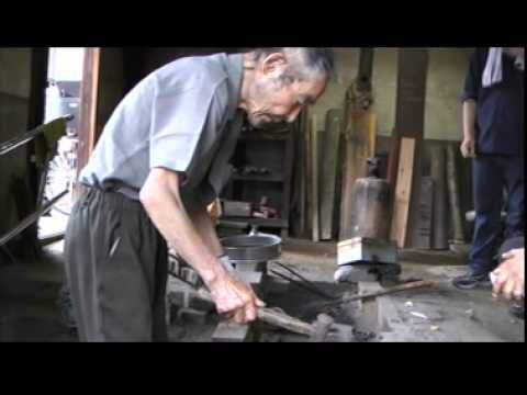Last blacksmith in Japan