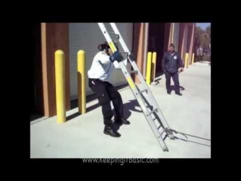 Butting A Ladder