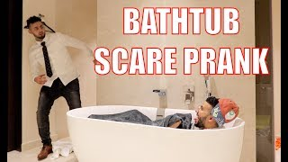BATHTUB SCARE PRANK!!! *EPIC FAIL*