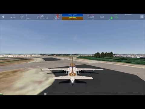 aerofly fs2 hayward to los angeles {bad landing}