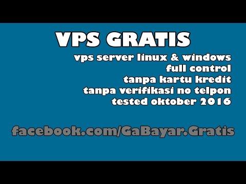 VPS Gratis Server Linux Windows