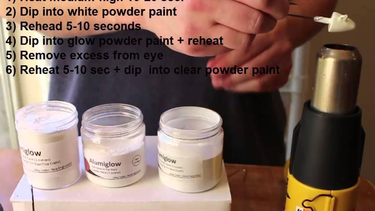 Powder Painting Jigs Youtube