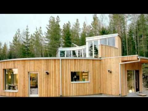 Villa Nyberg: A Passive Swedish Prefab With A Cool