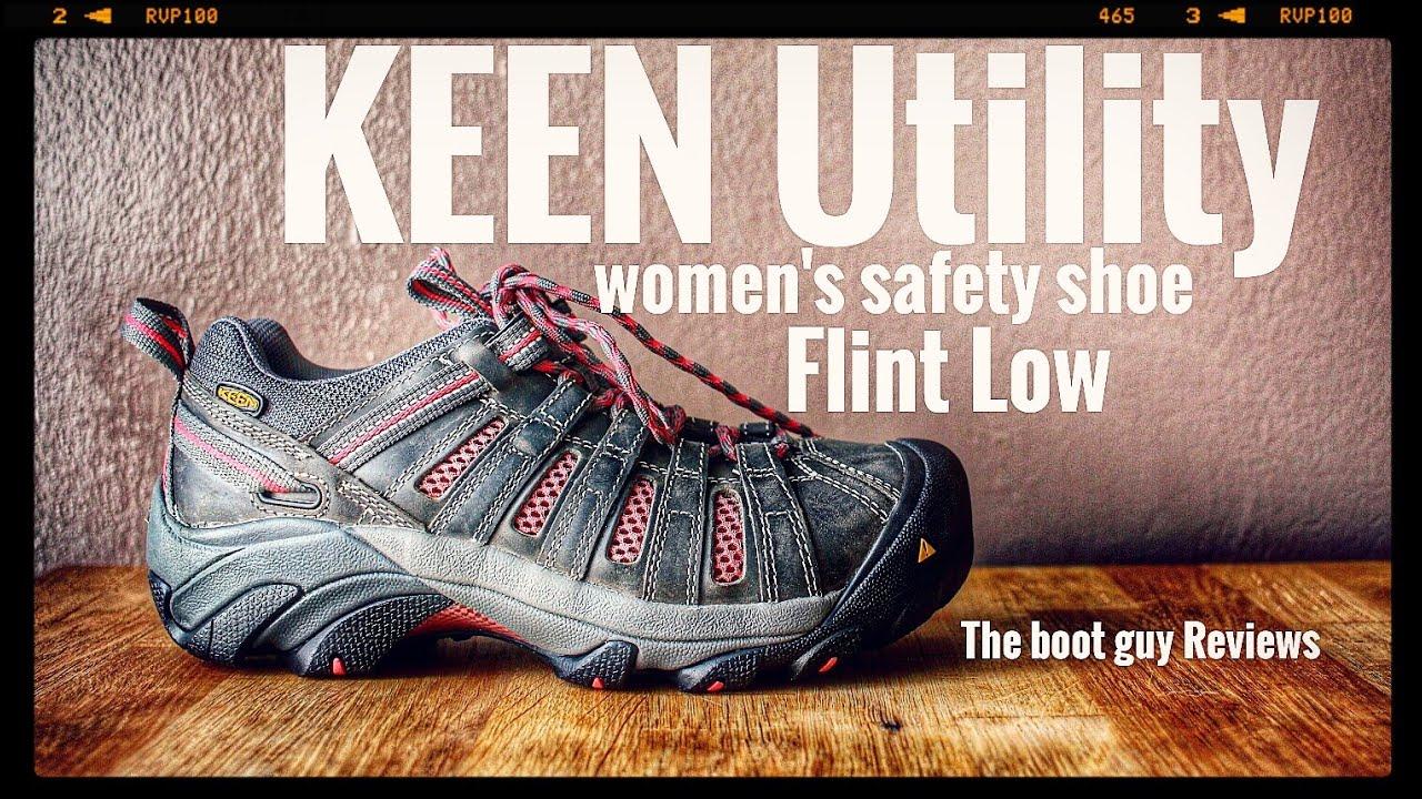 9cc86bd1df KEEN Utility WOMEN'S FLINT LOW STEEL TOE 1014598 [ The Boot Guy Reviews ]