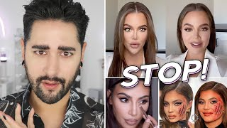 Instagram VS Reality - Kardashian /Jenner Special. Influencer Editing, Facetune Fails ✖  James Welsh
