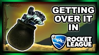GETTING OVER IT... IN ROCKET LEAGUE!