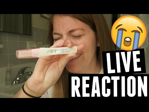 Thumbnail: Live Pregnancy Test Reaction!!!! Finding out I'm Pregnant!