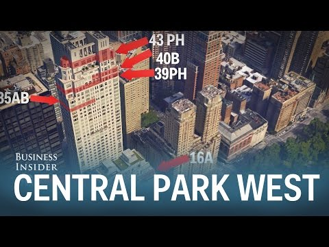 Residents of 15 Central Park West