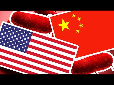 PLAGUE INC. - AMERICA VS CHINA EPIC DISEASE BATTLE