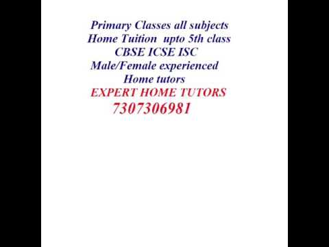 HOME TUITION FOR ALL CLASSES & ALL SUBJECTS