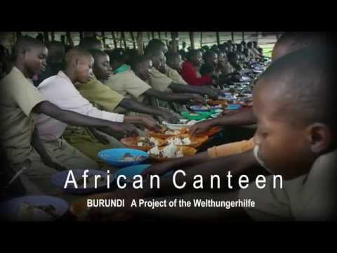 School lunch in Burundi