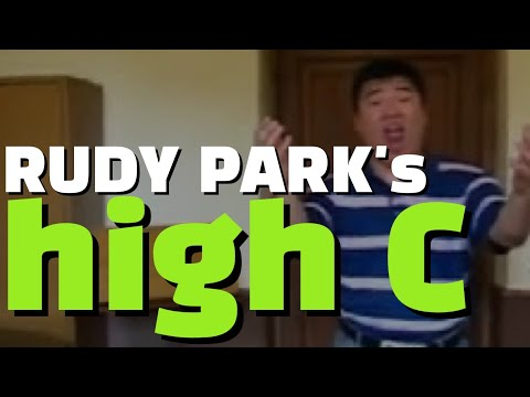 Tenor Rudy Park Incredible High C !!!!