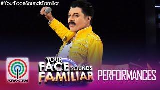 "Your Face Sounds Familiar: Nyoy Volante as Freddie Mercury - ""Bohemian Rhapsody"""