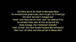 """18 KARAT -""""VERLIEBT IN EINEN GANGSTER 2"""" feat. NURA (Lyrics)"""
