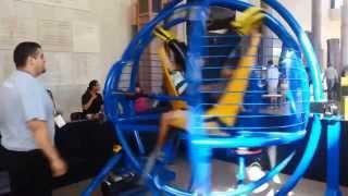 Sammy And Josue Ride The Gyro Ball
