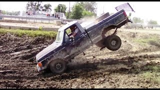 old black ford wild run 3 at berville hill and hole mud bog 2016