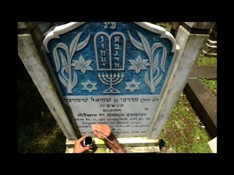 Mumbai's Muslim engraver at work in Jewish cemetery