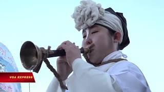 Hàn Quốc gửi thông điệp Hòa bình Olympic