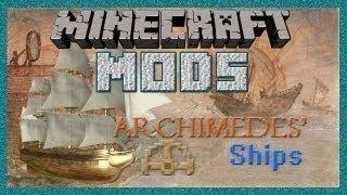 Minecraft Моды_ ПЛАВАЮЩИЕ  КОРАБЛИ